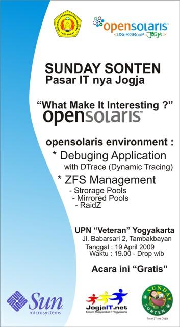 OpenSolaris Sunday Sonten